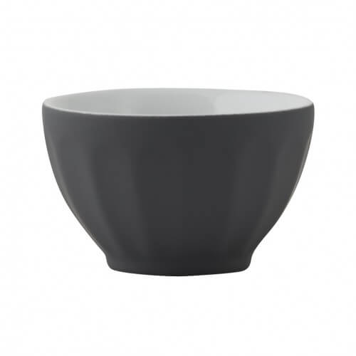 Matte Grey Mini Cafe Bowl Set Of 4