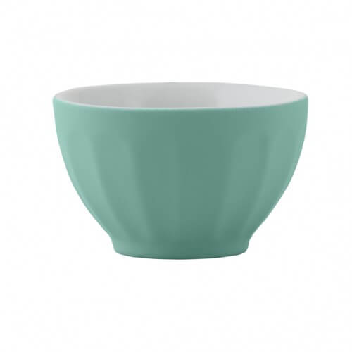 Matte Mint Mini Cafe Bowl Set Of 4