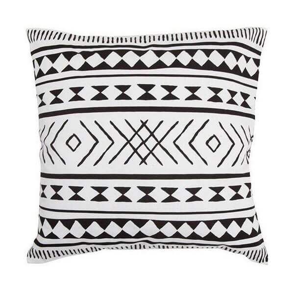 Maya Black & White Cushion
