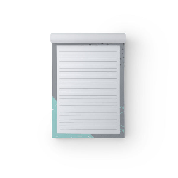 Notepad Mint & Grey A5