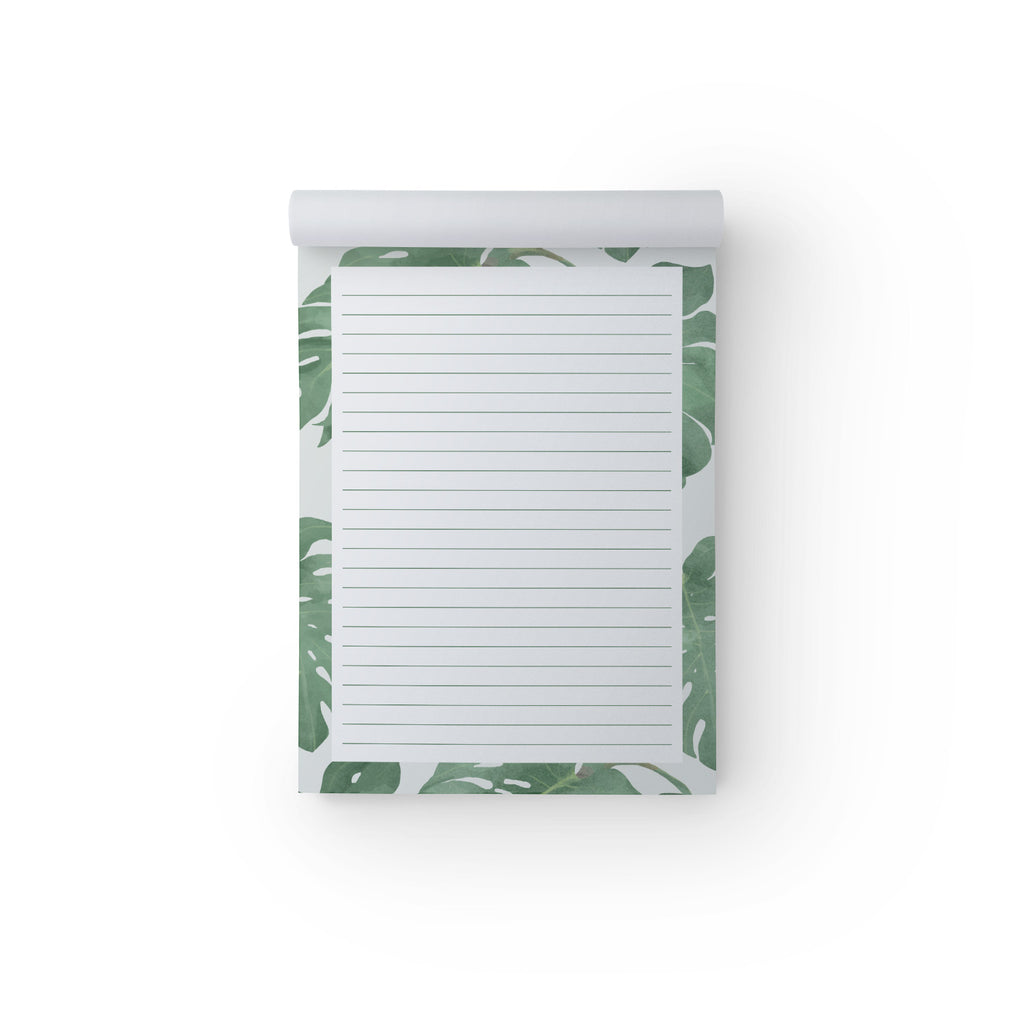 Notepad Philodendron A5