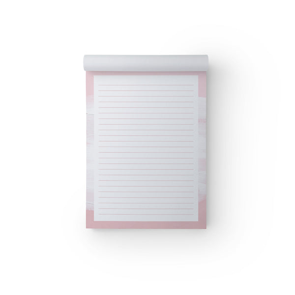 Notepad Pink Wash A5