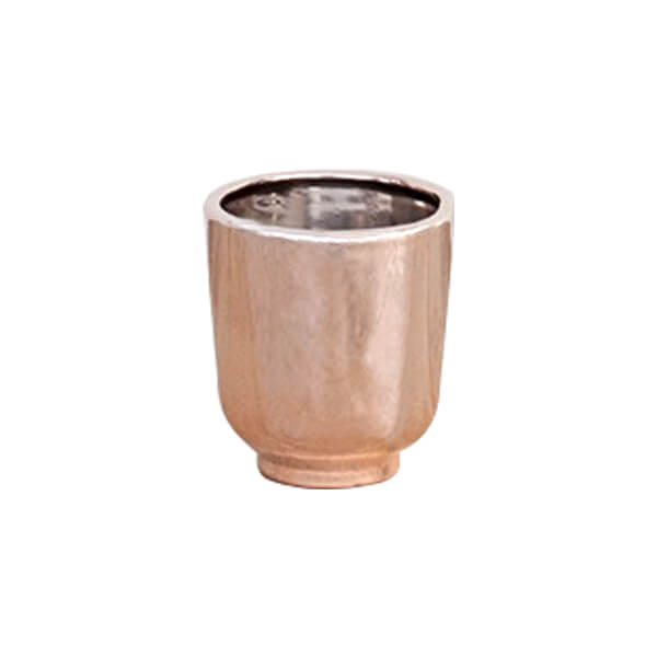 Rose Gold Small Planter