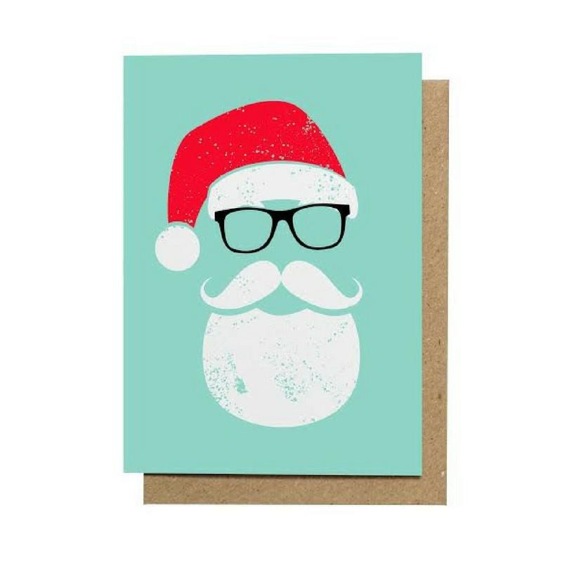 Santa Cool Greeting Card