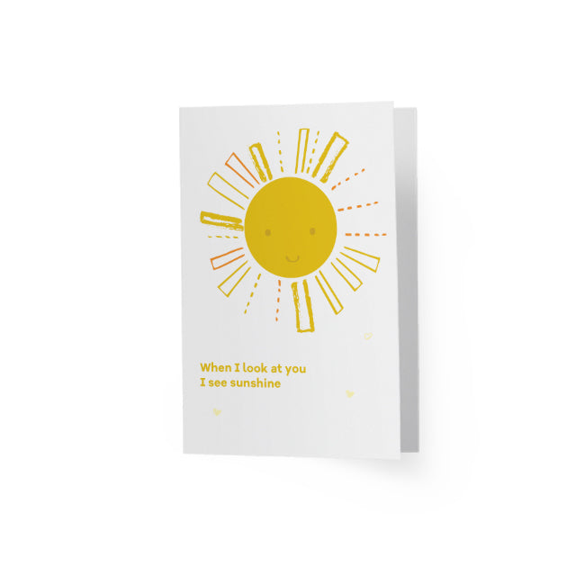 Greeting Card Sunshine