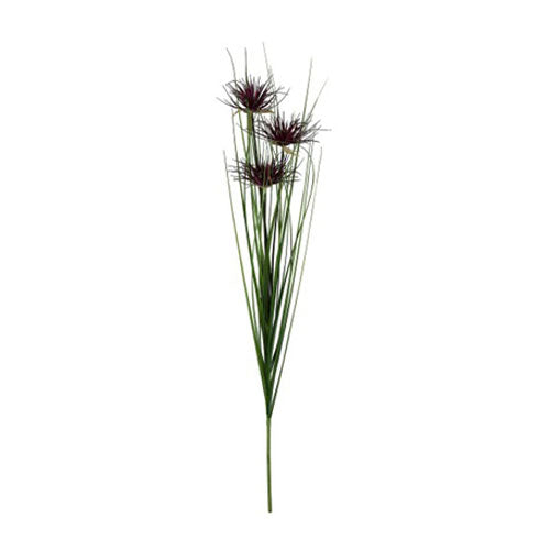 Faux Plant Umbrella Onion Grass Stem