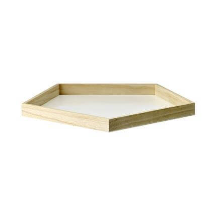 White/Natural Kitchen Tray