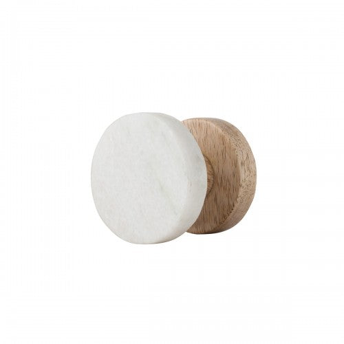 Hook Wooden Marble Small