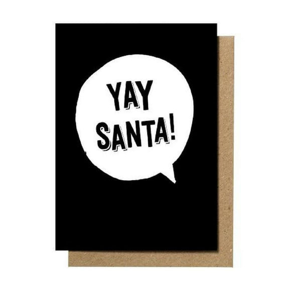 Yay Santa!' Greeting Card