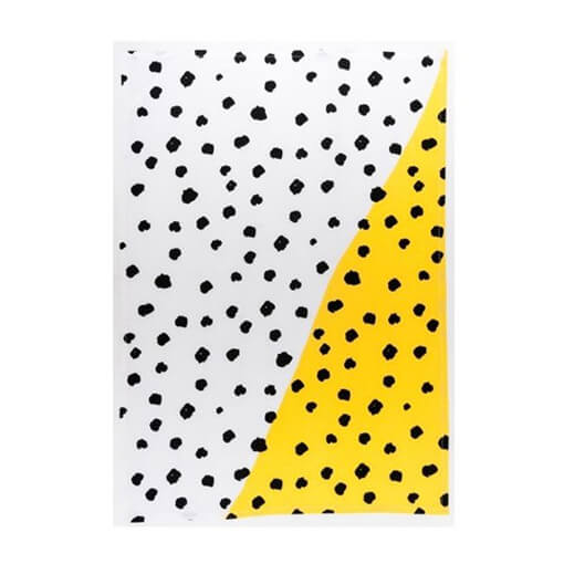 Yellow Pebble Tea Towel