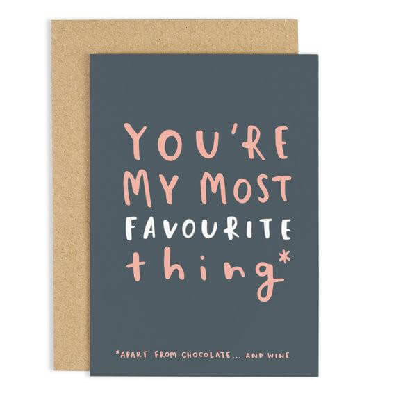 Youre My Most Favourite Thing' Greeting Card