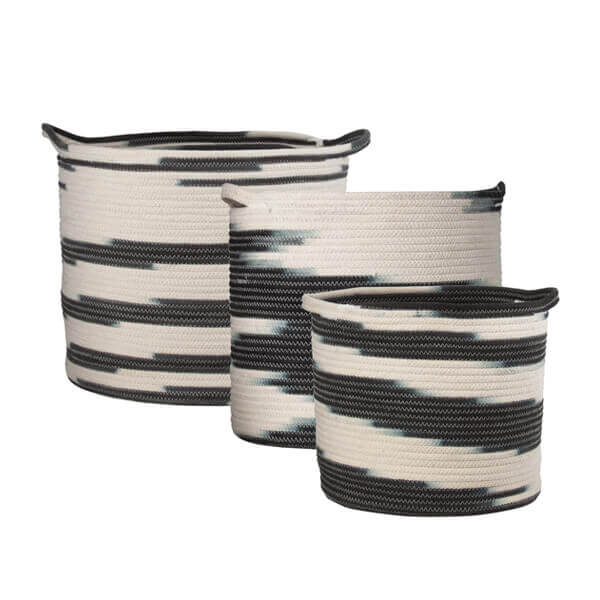 Ziggy Basket Set Of 3
