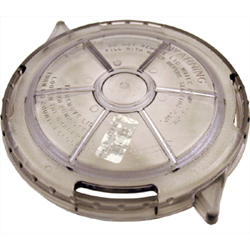 "WATERWAY LID, 6"" TRAP SELF LOCKING"