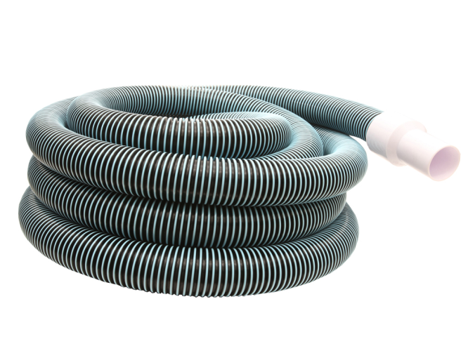Vacuum hose with swivel end 40'x1½