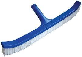 Wall brush ABS curved 18""