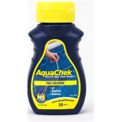 AQUACHEK FREE CHL, pH & T.A. TEST STRIPS