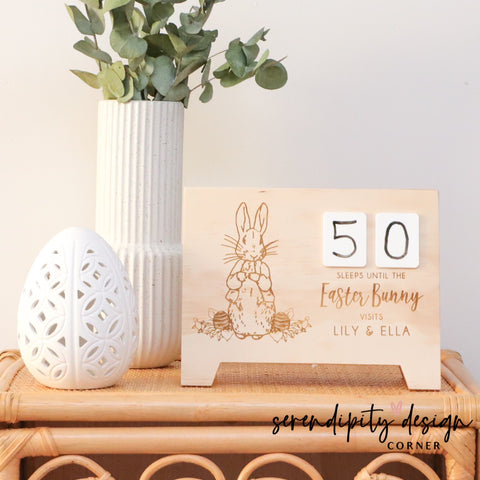 Personalised Easter / Christmas Dual Countdown Calendar
