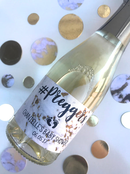 Personalised Mini Wine Marble Labels