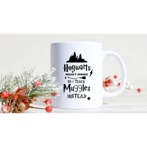 Personalised Harry Potter I Teach Muggles Mug Teachers Gift