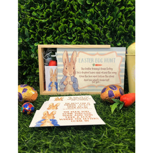 Peter Rabbit Easter Egg Hunt Game Cards & Box