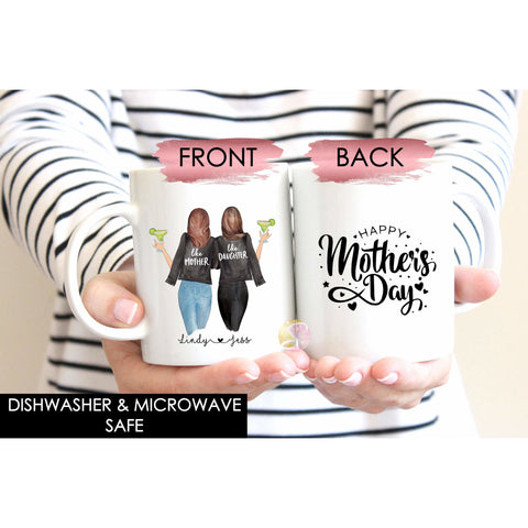 Personalised Mug - Mothers Day Mug - Mother Daughter