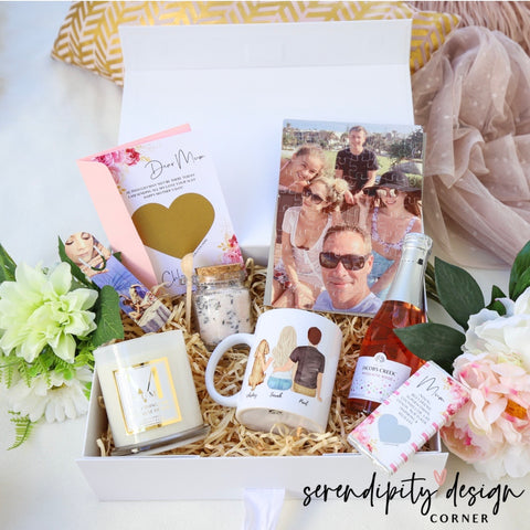 Personalised Mother's Day Ultimate Self Care Boxes