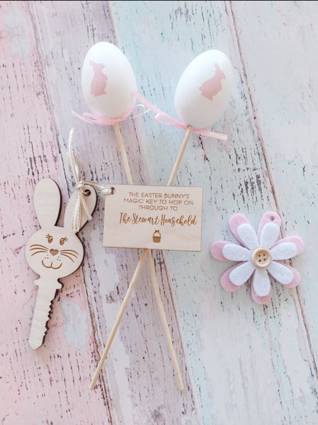 Personalised Easter Bunny Magic Key