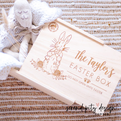 Personalised Easter Box - Peter Rabbit