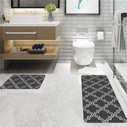 Bathroom Entrance Door Mat Washable Non-slip Kitchen Floor