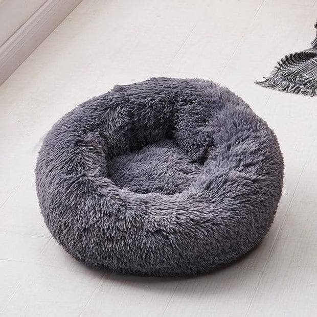 Long Plush Pet Bed