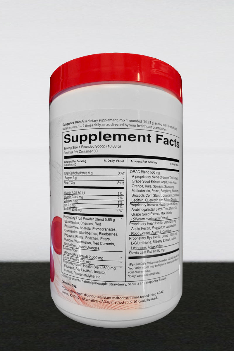 Superfood Red Detox formula II - a delicious healthy drink!