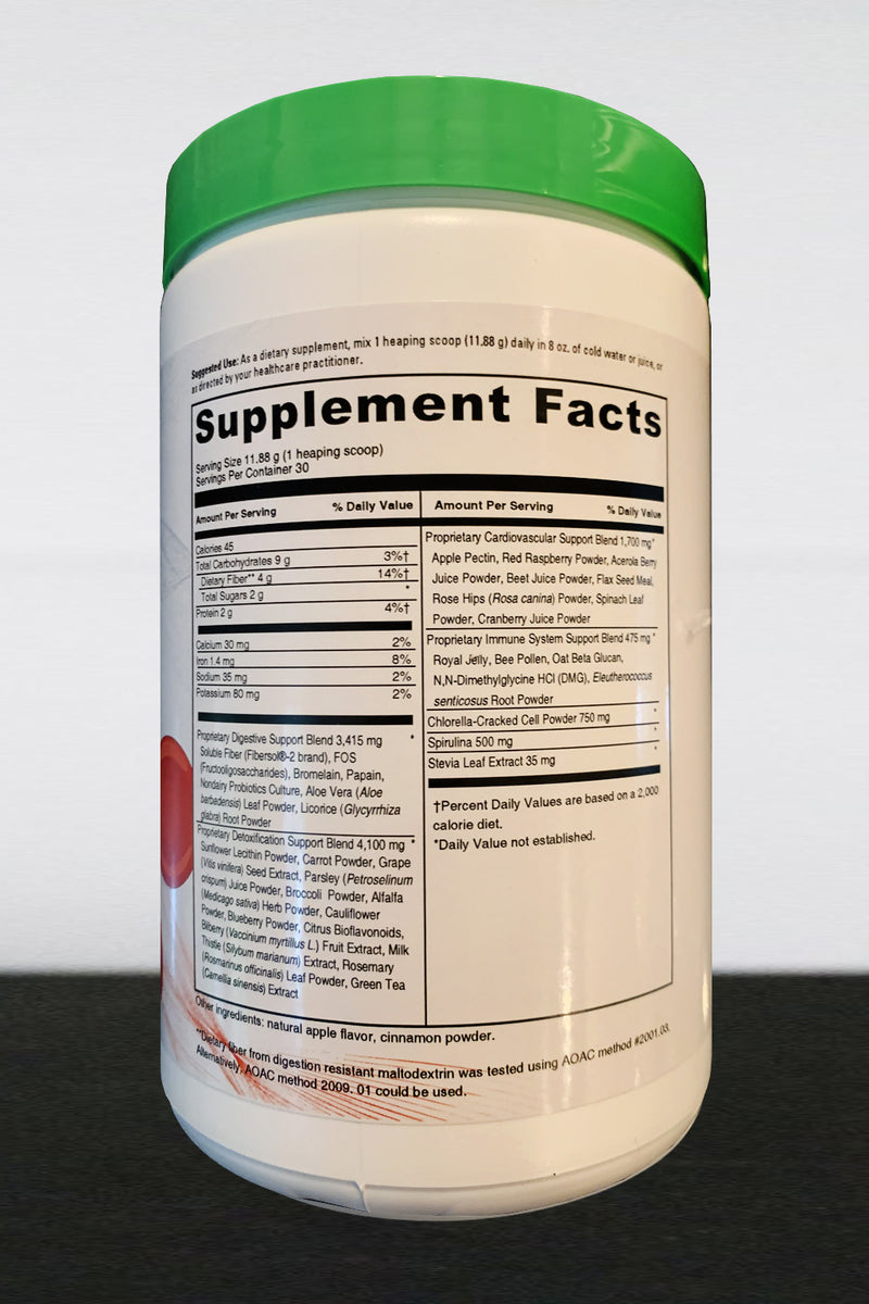 Superfood Green Detox Formula IV - a delicious healthy drink!