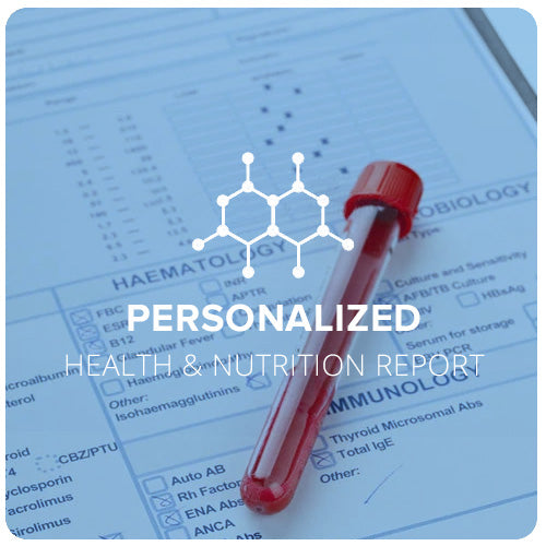 Blood Detective Report - your personalized health & nutrition report!