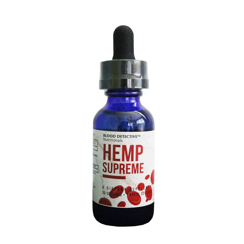 Hemp Supreme - High Quality, Full Spectrum Supercritical Extraction