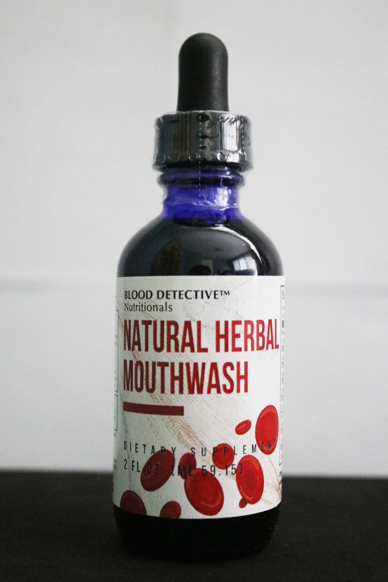 Natural Herbal Mouthwash