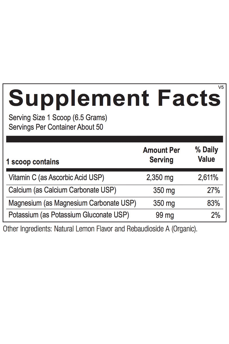 Ketovitamin C Buffered Powder (formally buffered C alkaline formula)