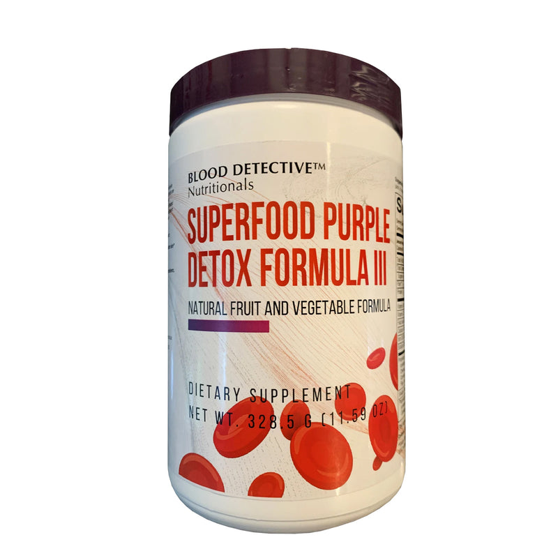 Superfood Purple Detox Formula III - a delicious healthy drink!