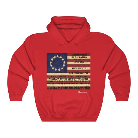 2ND AMENDMENT Heavy Blend™ Hooded Sweatshirt