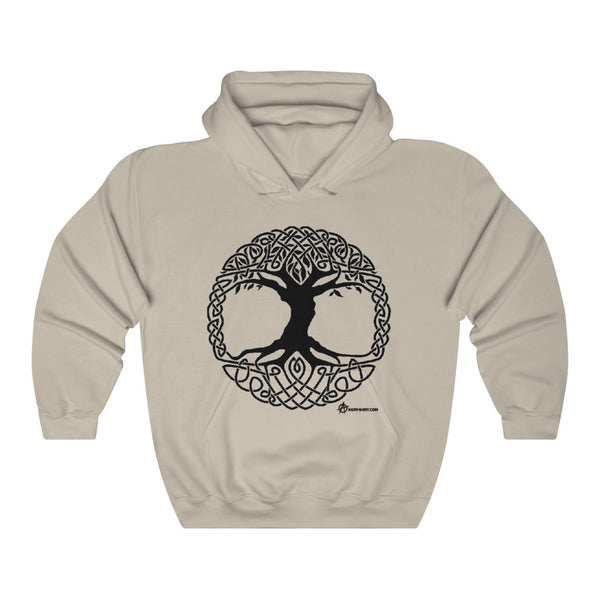 Celtic Tree Hooded Sweatshirt
