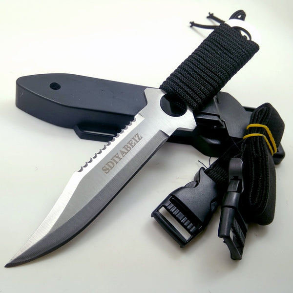 Fixed Blade Stainless Steel Hunting Knife