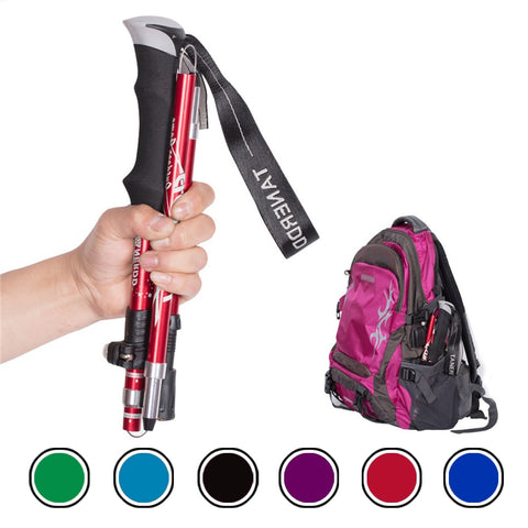 4-Section Folding Trekking Pole