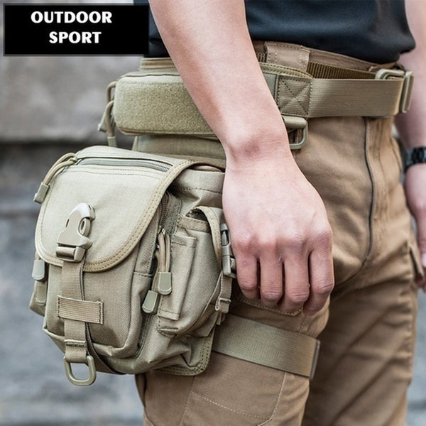 Tactical Waist And Leg Multi-function Bag