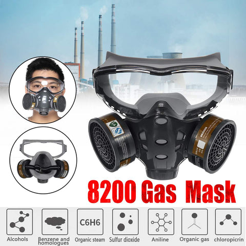 Half Face 8200 Gas Mask