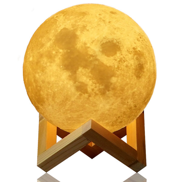 3D Moon Comfortable  Lamp