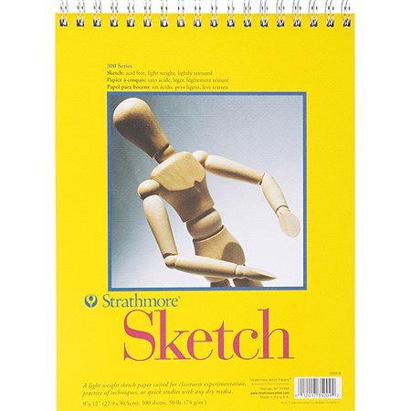 Strathmore Sketch Pad, 9