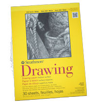 Strathmore Drawing Pad, 9