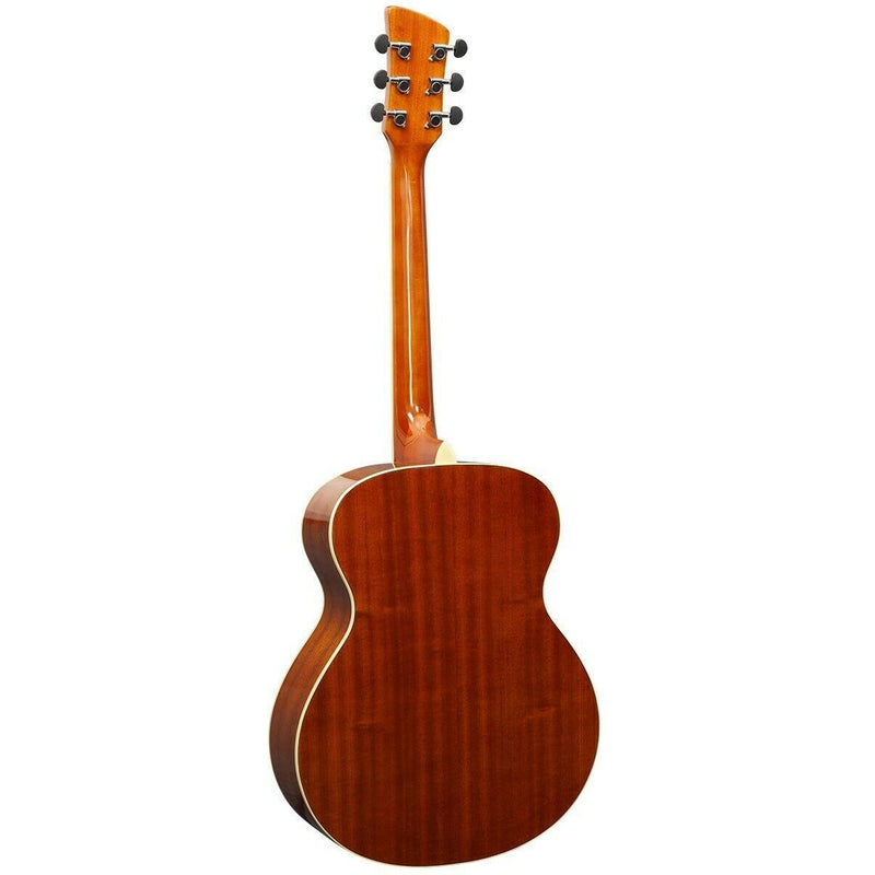 BRUNSWICK GRAND AUDITORIUM ACOUSTIC GUITAR IN RED GLOSS