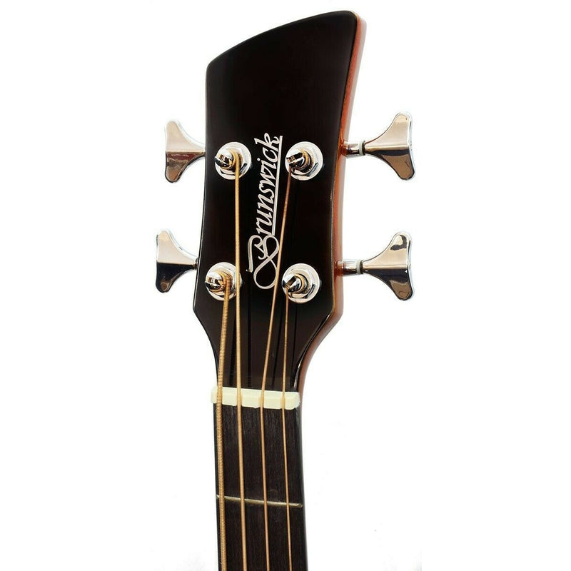 Brunswick Acoustic Bass Guitar in Black