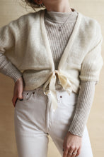 Laden Sie das Bild in den Galerie-Viewer, Strickjacke Mohair | Onesize
