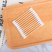 Load image into Gallery viewer, 200ct Bamboo Cotton Swabs